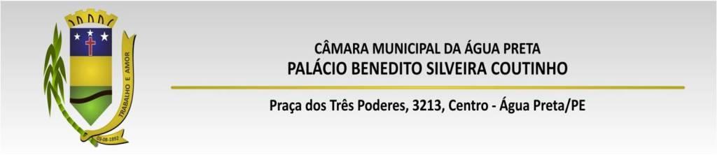 Câmara Municipal de Água Preta