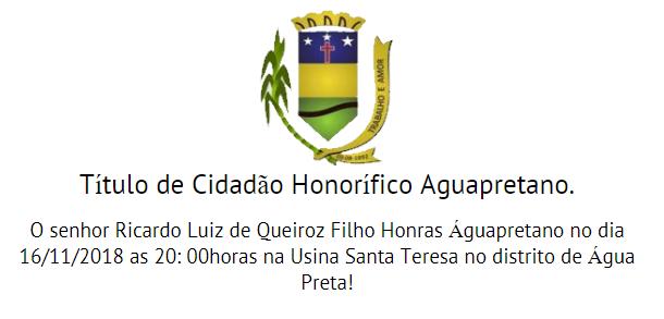 Título de Cidadão Honorífico